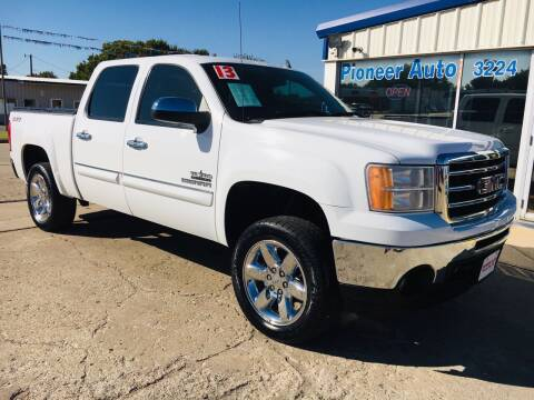 2013 GMC Sierra 1500 for sale at Pioneer Auto in Ponca City OK