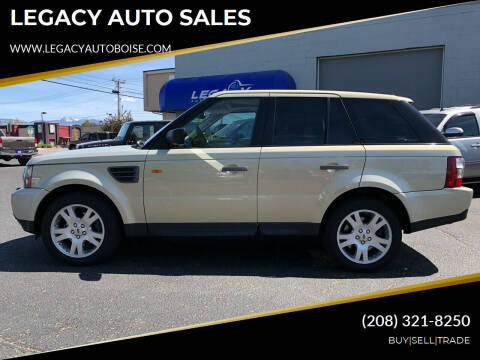 2006 Land Rover Range Rover Sport for sale at LEGACY AUTO SALES in Boise ID