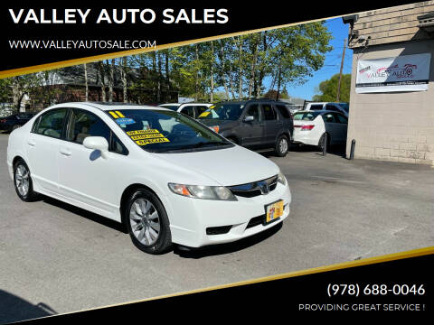 2011 Honda Civic for sale at VALLEY AUTO SALES in Methuen MA