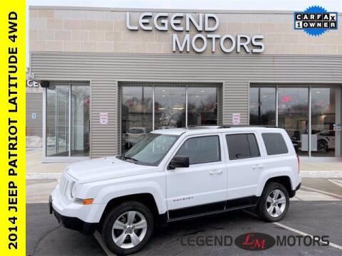 2014 Jeep Patriot for sale at Legend Motors of Detroit - Legend Motors of Waterford in Waterford MI