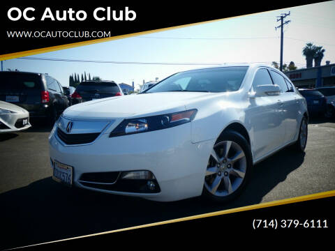 2014 Acura TL for sale at OC Auto Club in Midway City CA