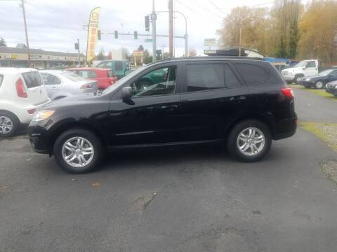 2012 Hyundai Santa Fe for sale at Bonney Lake Used Cars in Puyallup WA