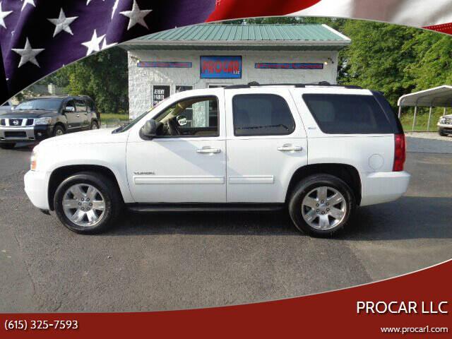 2012 GMC Yukon for sale at PROCAR LLC in Portland TN
