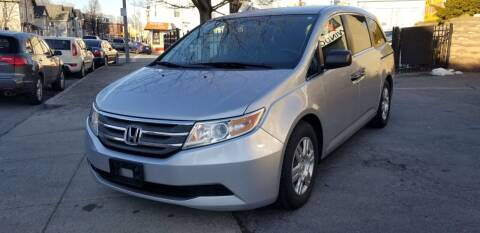 2012 Honda Odyssey for sale at Motor City in Roxbury MA