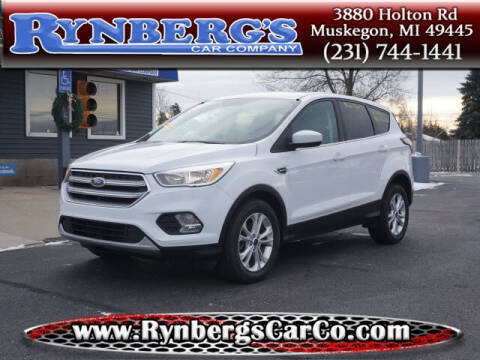 2017 Ford Escape for sale at Rynbergs Car Co in Muskegon MI