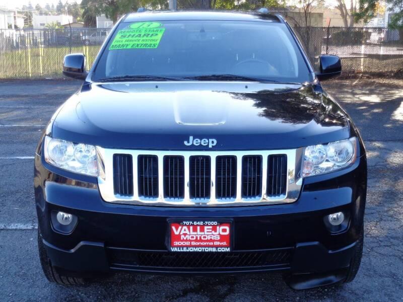 2011 Jeep Grand Cherokee for sale at Vallejo Motors in Vallejo CA