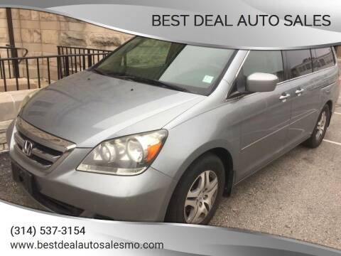 2007 Honda Odyssey for sale at Best Deal Auto Sales in Saint Charles MO