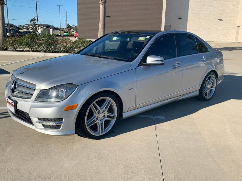 2012 Mercedes-Benz C-Class for sale at ABS Motorsports in Houston TX