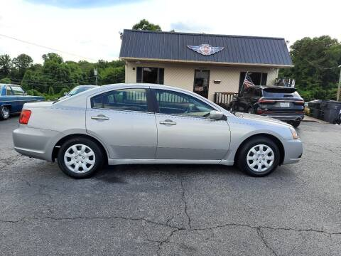 2012 Mitsubishi Galant for sale at G AND J MOTORS in Elkin NC