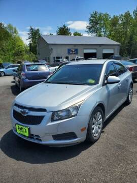 2011 Chevrolet Cruze for sale at Jeff's Sales & Service in Presque Isle ME
