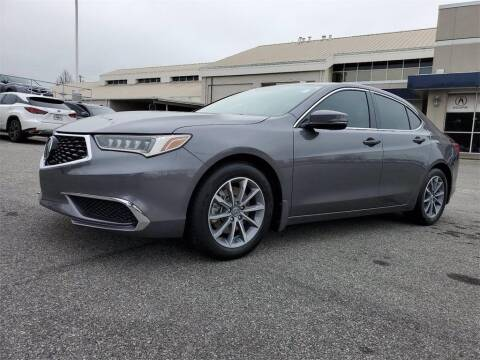 2018 Acura TLX for sale at CU Carfinders in Norcross GA