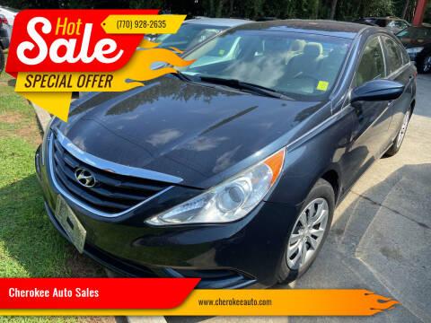 2012 Hyundai Sonata for sale at Cherokee Auto Sales in Acworth GA