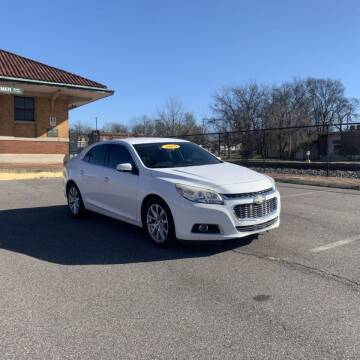 2015 Chevrolet Malibu for sale at FIRST CLASS AUTO SALES in Bessemer AL