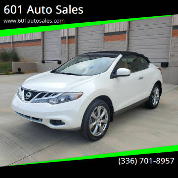 2014 Nissan Murano CrossCabriolet for sale at 601 Auto Sales in Mocksville NC