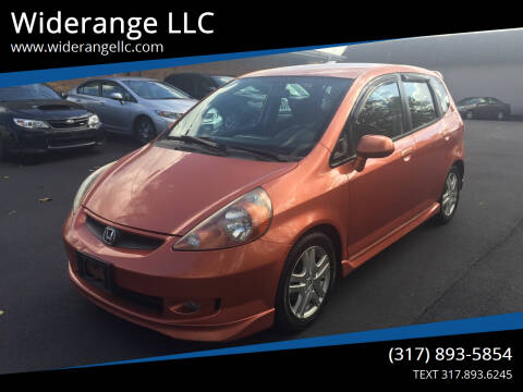 2007 Honda Fit for sale at Widerange LLC in Greenwood IN