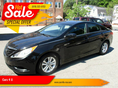 2013 Hyundai Sonata for sale at Cars 4 U in Haverhill MA