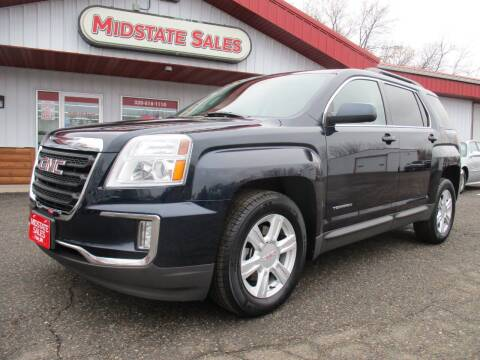 2016 GMC Terrain for sale at Midstate Sales in Foley MN
