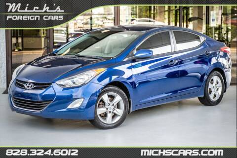 2013 Hyundai Elantra for sale at Mich's Foreign Cars in Hickory NC
