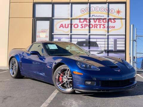 2007 Chevrolet Corvette for sale at Las Vegas Auto Sports in Las Vegas NV