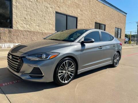 2017 Hyundai Elantra for sale at Dream Lane Motors in Euless TX