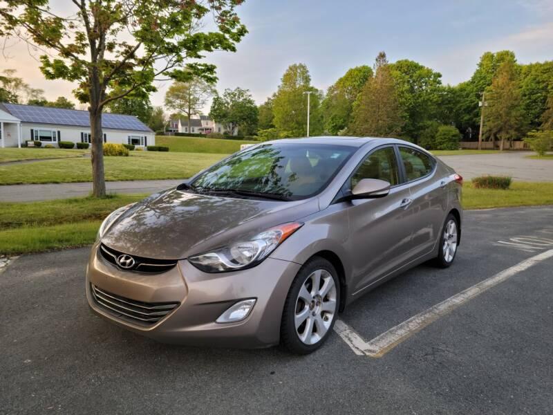 2013 Hyundai Elantra for sale at iDrive in New Bedford MA