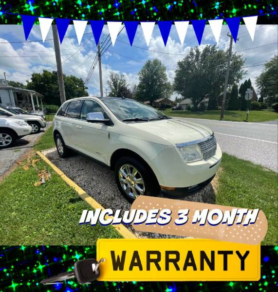 2008 Lincoln MKX for sale at LAUER BROTHERS AUTO SALES in Dover PA