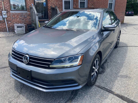 2017 Volkswagen Jetta for sale at Ludlow Auto Sales in Ludlow MA