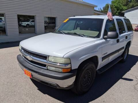 2003 Chevrolet Tahoe for sale at Progressive Auto Sales in Twin Falls ID