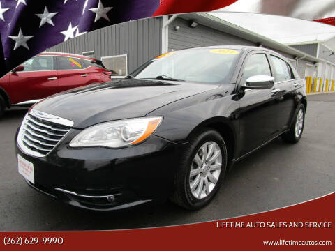 2013 Chrysler 200 for sale at Lifetime Auto Sales and Service in West Bend WI