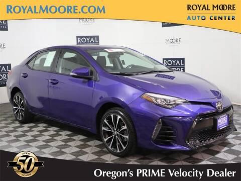 2018 Toyota Corolla for sale at Royal Moore Custom Finance in Hillsboro OR