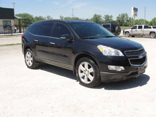 2012 Chevrolet Traverse for sale at Frieling Auto Sales in Manhattan KS