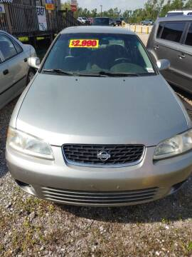 2002 Nissan Sentra for sale at Finish Line Auto LLC in Luling LA