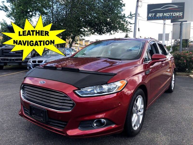 2013 Ford Fusion for sale at RT28 Motors in North Reading MA