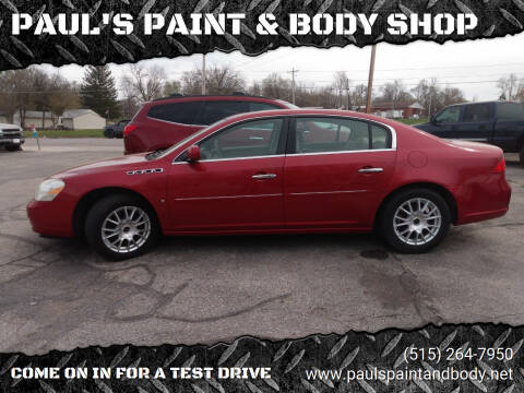 2006 Buick Lucerne for sale at PAUL'S PAINT & BODY SHOP in Des Moines IA