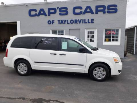 2008 Dodge Grand Caravan for sale at Caps Cars Of Taylorville in Taylorville IL
