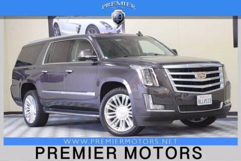 2016 Cadillac Escalade ESV for sale at Premier Motors in Hayward CA