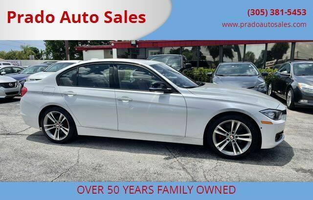 2012 BMW 3 Series for sale at Prado Auto Sales in Miami FL