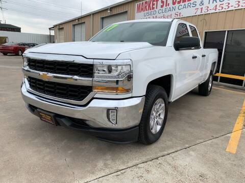 2017 Chevrolet Silverado 1500 for sale at Market Street Auto Sales INC in Houston TX