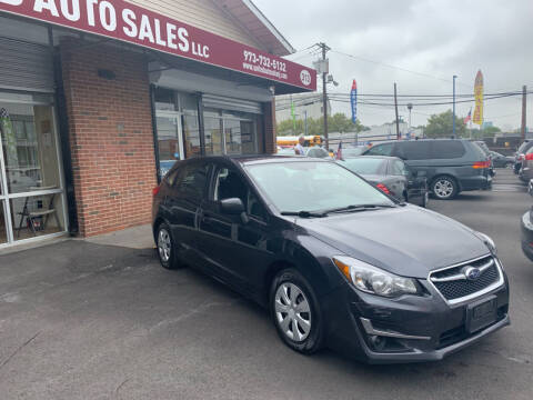 2016 Subaru Impreza for sale at United Auto Sales of Newark in Newark NJ