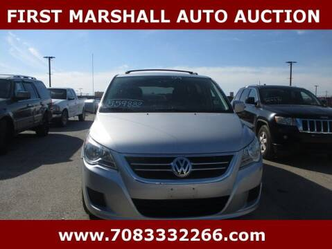 2009 Volkswagen Routan for sale at First Marshall Auto Auction in Harvey IL