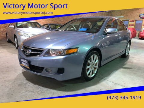 2007 Acura TSX for sale at Victory Motor Sport in Paterson NJ