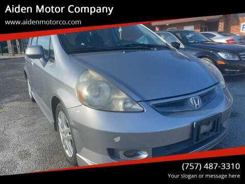 2008 Honda Fit for sale at Aiden Motor Company in Portsmouth VA