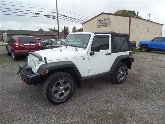 2015 Jeep Wrangler for sale at Terrys Auto Sales in Somerset PA