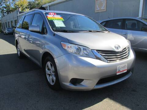2011 Toyota Sienna for sale at Omega Auto & Truck CTR INC in Salem MA