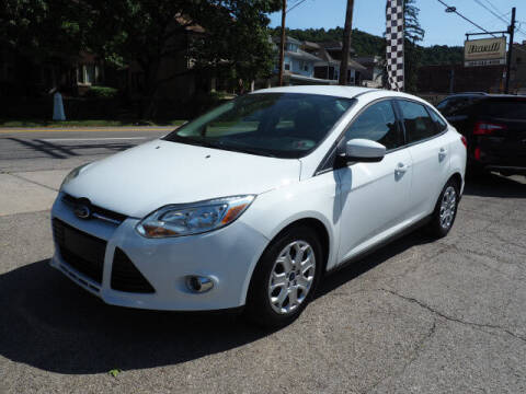 2012 Ford Focus for sale at Advantage Auto Sales in Wheeling WV