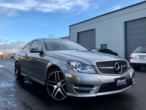 2014 Mercedes-Benz C-Class for sale at DASH AUTO SALES LLC in Salem OR