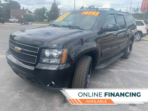 2011 Chevrolet Suburban for sale at Excel Auto Sales LLC in Kawkawlin MI