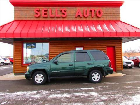 2002 Chevrolet TrailBlazer for sale at Sells Auto INC in Saint Cloud MN