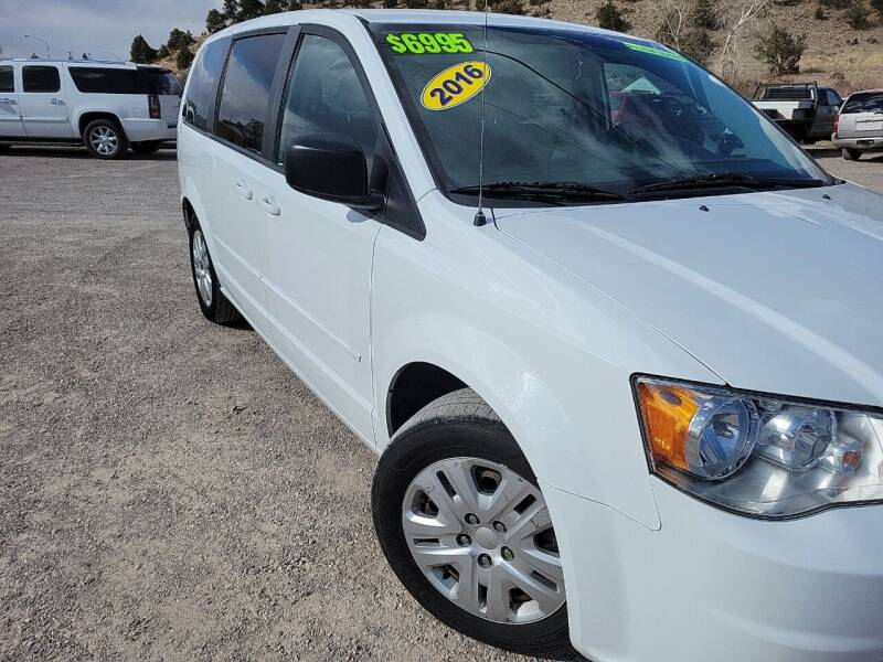 2016 Dodge Grand Caravan for sale at Canyon View Auto Sales in Cedar City UT