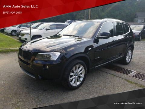 2013 BMW X3 for sale at AMA Auto Sales LLC in Ringwood NJ